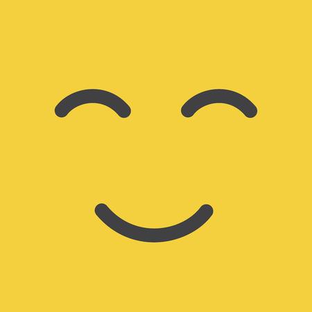 World Smile Day october. World Smile Day yellow background.