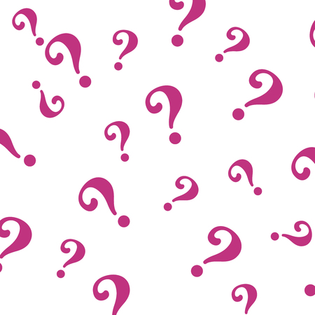 Question mark pattern. Question design vector background