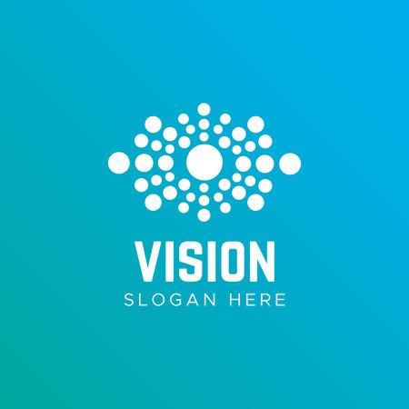 Eye vector  design idea. Eye Health  template Illustration