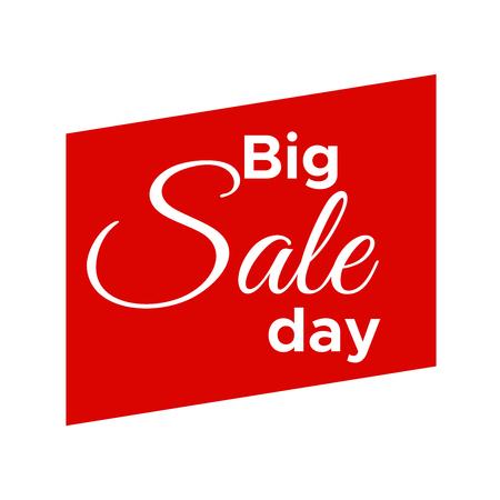 Big Sale label. Sale badge background. Sale new banner Illustration