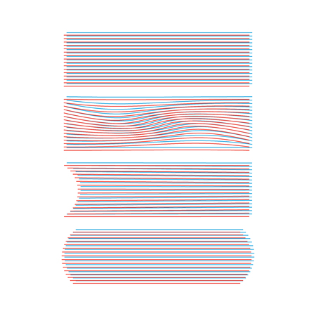 Speed line collection vector. Abstract action art