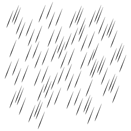 Rain transparent background. Water drops rainfall vector pattern Illusztráció