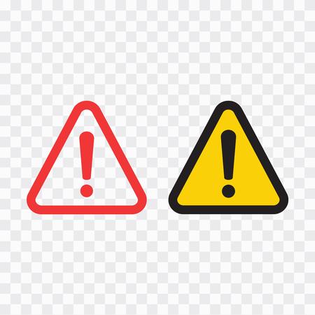 The attention icon. Danger symbol. Alert icon Ilustrace