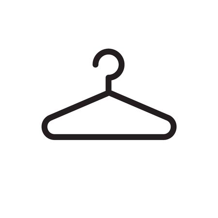 hanger icon vector. Cleaning and Laundry Service Company icon