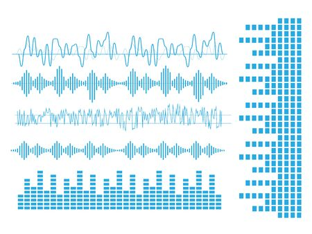 Vector sound waves. Audio equalizer technology