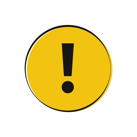 Attention sign symbol. Warning alert. Attention icon