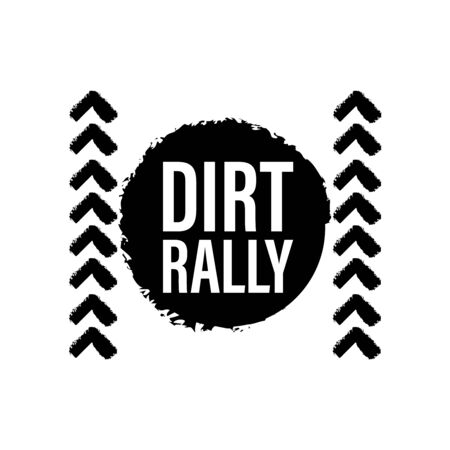 Dirt rally motorcycle texture. Motorcycle race dirty wheel track