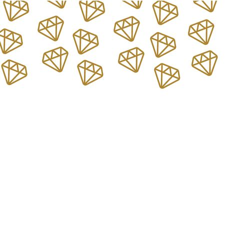 Falling diamond background vector. Falling diamond pattern backdrop vector  イラスト・ベクター素材