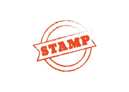 Stamp vector sale. Stamp retro logo