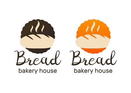 Bakery icon. Retro Bakery labels, logos and badges. Bakery and bread shop logos