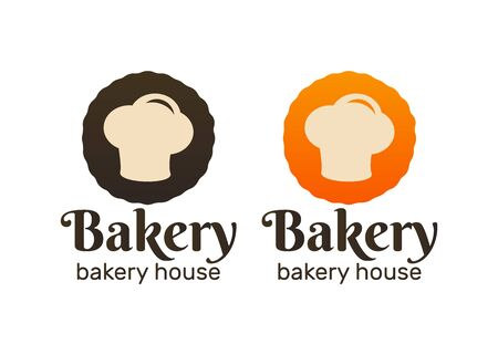 Set of vintage bakery logos. Bakery and bread shop logos