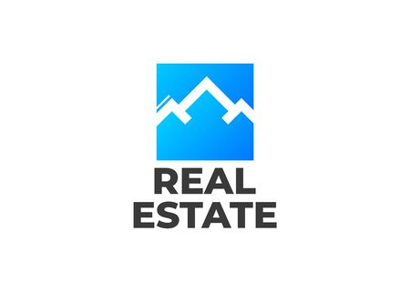 Real Estate, Building and Construction Logo Vector Design. Logo real estate set