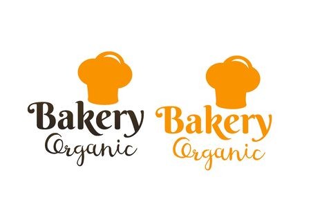 Bakery retro labels. Bakery and bread shop logos