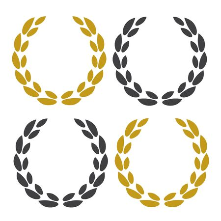 Logo für den Bestseller-Preis. Vektorillustrationssymbole Logo