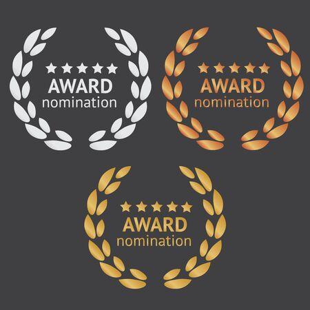 Best seller badge logo. Best seller award logo