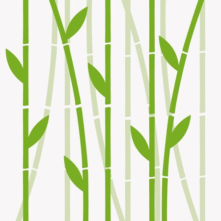 Chinese or japanese bamboo grass oriental wallpaper vector