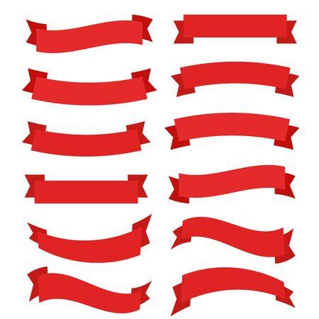 Bannière de rubans super design. Rubans bannière élément graphique vecteur. Fond de bannière de rubans.
