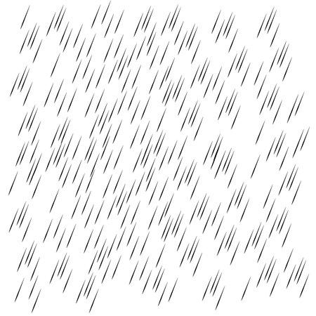 Rain transparent background. Water drops rainfall vector pattern Ilustrace