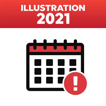Vector time and Calendar icons isolated. Plan vector. Date icons 矢量图像