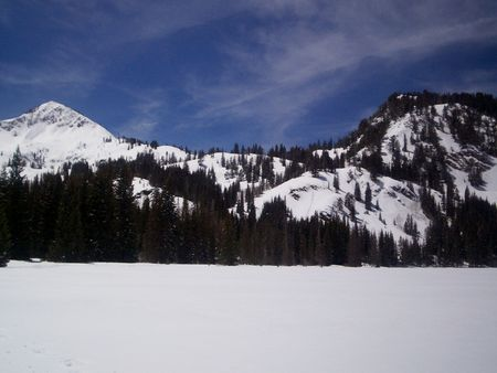wasatch: Mt. Millicent and Mt. Evergreen