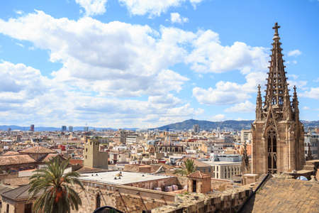 barcelona cathedral: The view from the top of Barcelona Cathedral
