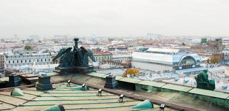Beautiful view of Saint-Petersburg Russia photo