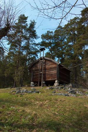 Swedish farm scene Stock Photo - 4751728