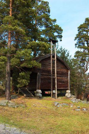 Swedish farm scene Stock Photo - 4751730