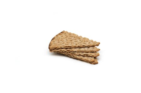 Swedish crispbread isolated on white Stock Photo - 4885019