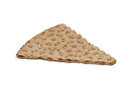 Swedish crispbread isolated on white Stock Photo - 4885075
