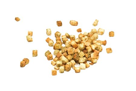 Isolated herbal croutons