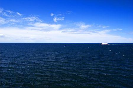 Cruise ship in the Baltic sea