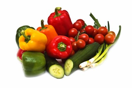 Fresh vegetable mix Stock Photo - 5044755
