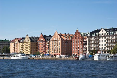 Stockholm-view from water
