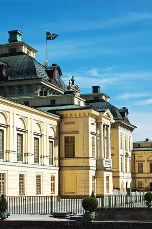 Drottningholm royale palace in Stockholm