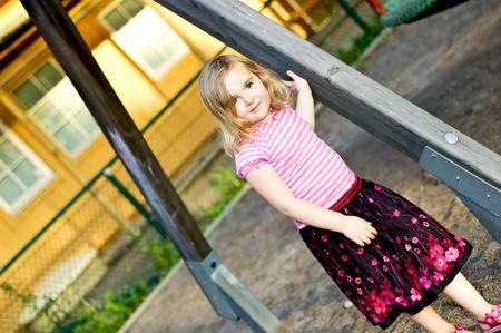 4 years old girls portrait