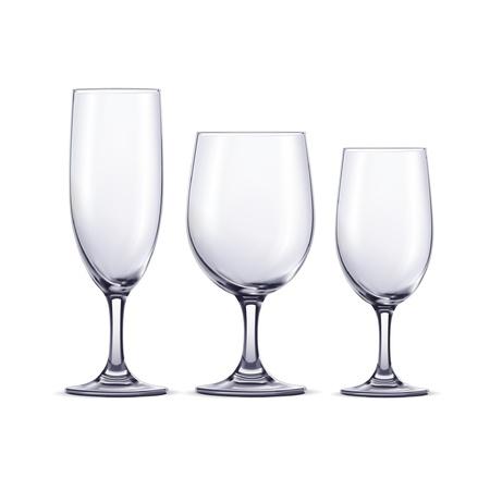 bollicine champagne: Bicchieri di vino