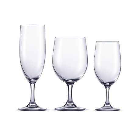 wine glass: Wine glasses