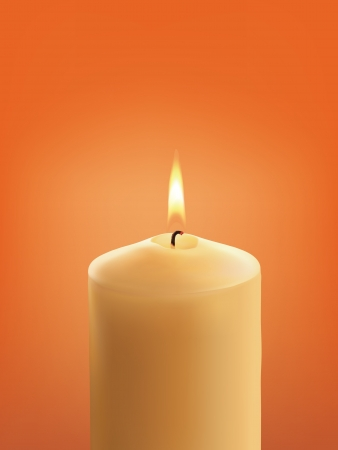 Candle. illustration Stock Vector - 17013482