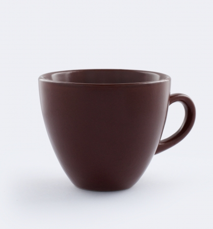 coffee mug: Cup isolated with clipping path Stock Photo