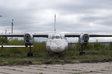 abandoned: Abandoned Airplane