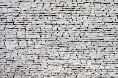 Flat stones wall background