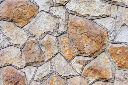 Wall of natural stone as texture background 스톡 콘텐츠