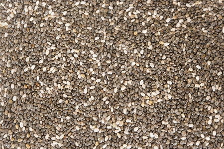 Background of chia seeds photo
