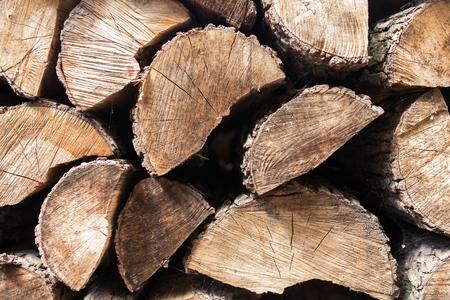 wood cut: Cut wood texture