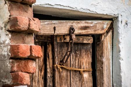 locked door Banco de Imagens