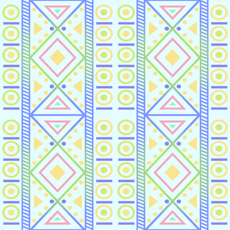 seamless native geometry pattern background