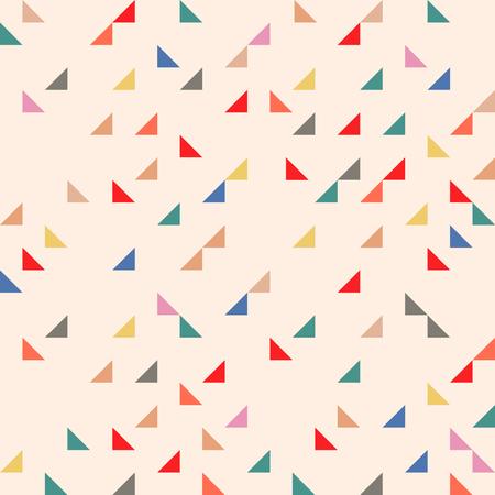 seamless colorful geomatric pattern Stock Illustratie
