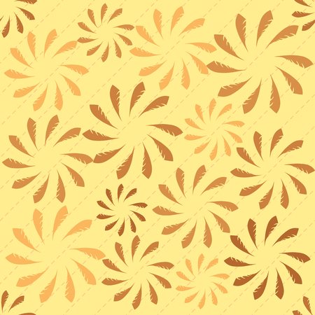 seamless abstract leaves background
