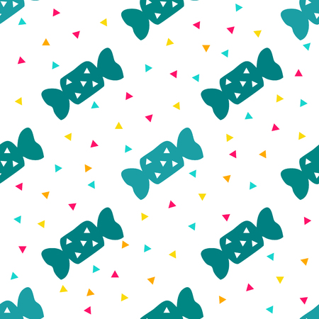 seamless pop candy pattern background